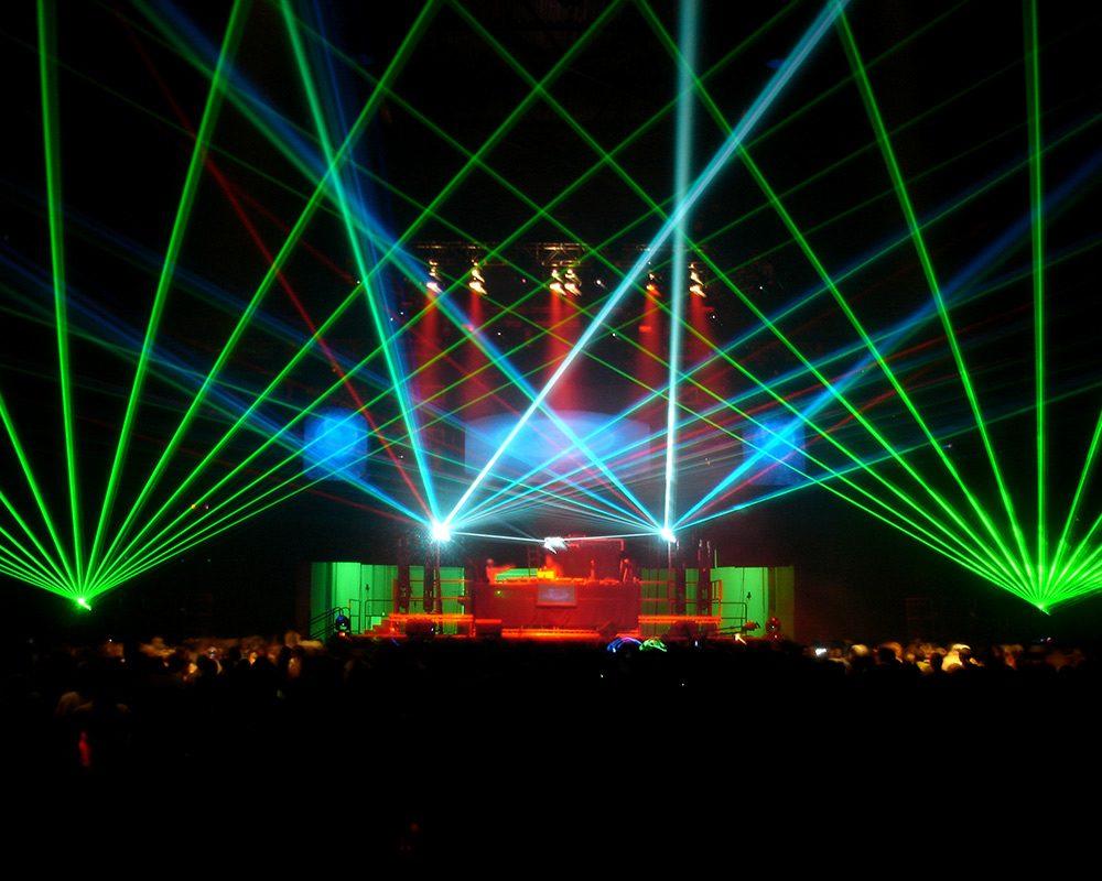 Laser-Effect